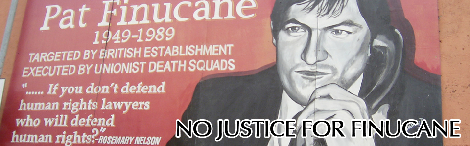 Supporting an Independent, International Finucane Inquiry